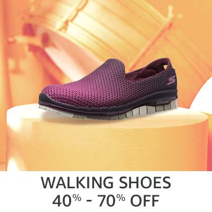 Walking Shoes 40% - 70% Off