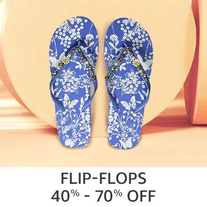 Flip - Flops 40% - 70% off