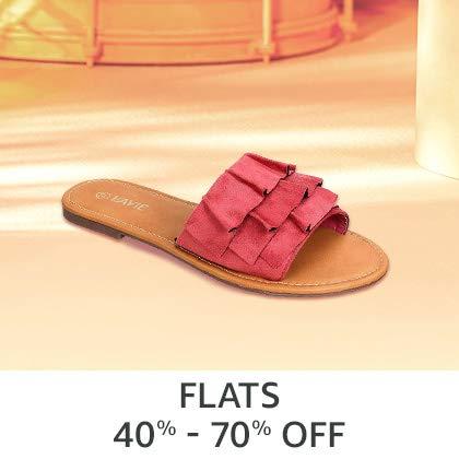 Flats 40% - 70% off