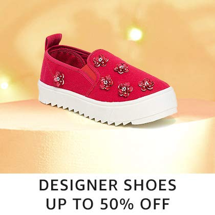 Designer Shoes Up to 50% off