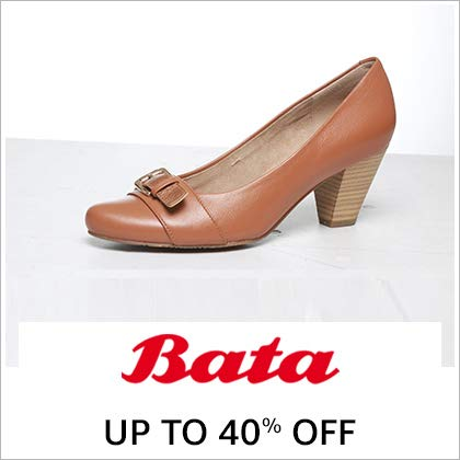 Bata Up To 40% Off