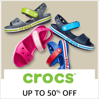 Crocs Up To 50% Off