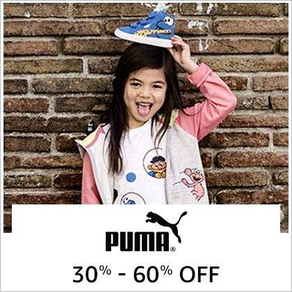 Puma 30% - 60% Off
