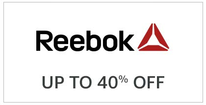 Reebok Up To 40% Off
