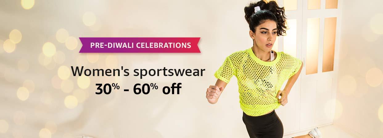 30% - 60% Off Women's Sportswear