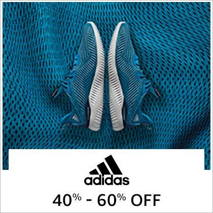 adidas 40% - 60% Off