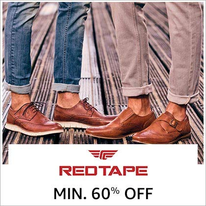 Red Tape Min. 60% Off