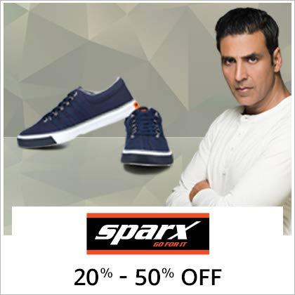 Sparx 20% - 50% Off