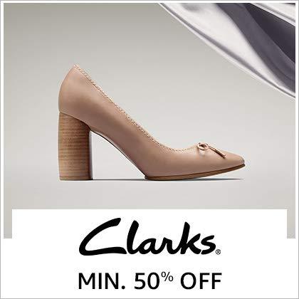 Clarks Min. 50% Off