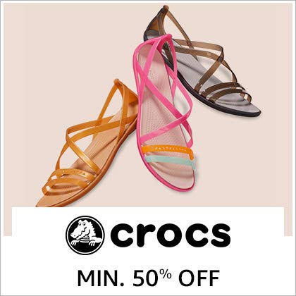 Crocs Min. 50% Off