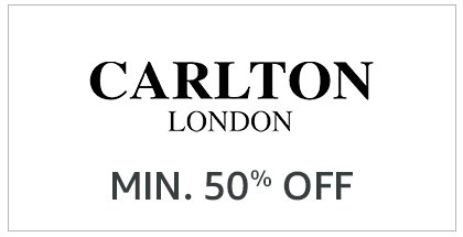 Carlton London Min. 50% off