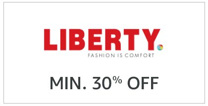 Liberty Min. 30% Off