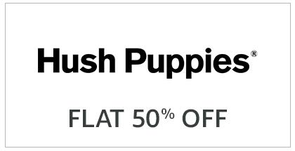 Hush Puppies Flat 50% Off