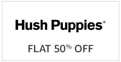 Hush Puppies Flat 50% Off
