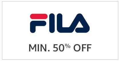 Fila Min. 50% off