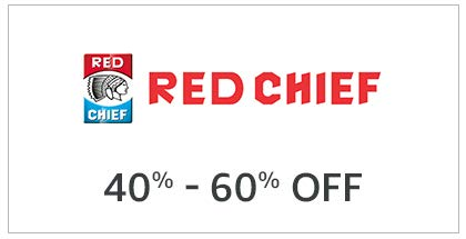 Red Chief 40% - 60% Off