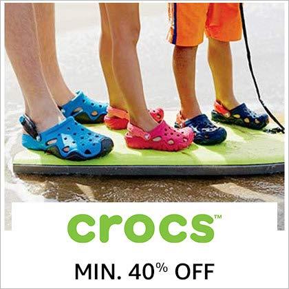 Crocs Min. 40% Off