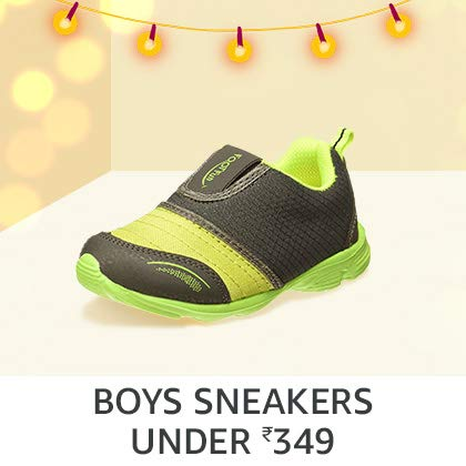 Boys' Sneakers Under Rs. 349