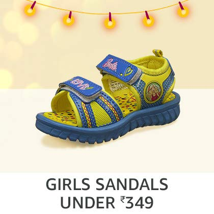 Girls' Sandals Under Rs. 349