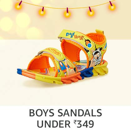 Boys' Sandals Under Rs. 349