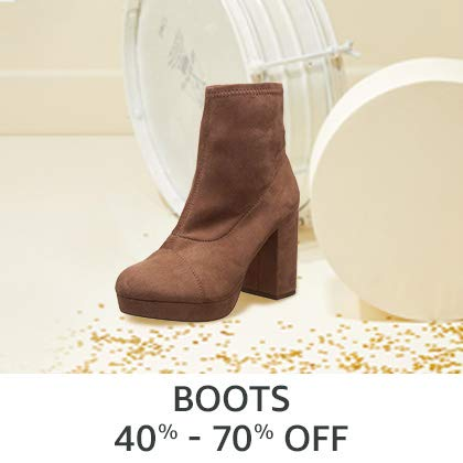Boots 40% - 70% Off