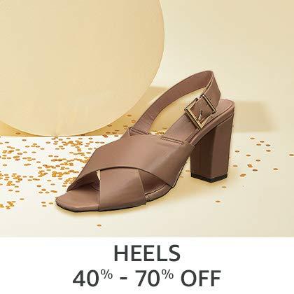 Heels 40% - 70% Off
