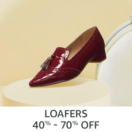 Loafers 40% - 70% Off