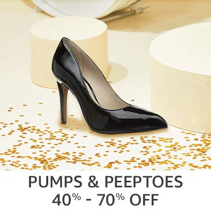 Pumps & Peeptoes 40% - 70% Off