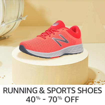 Running & Sports Shoes 40% - 70% Off