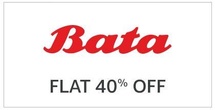 Bata Flat 40% off