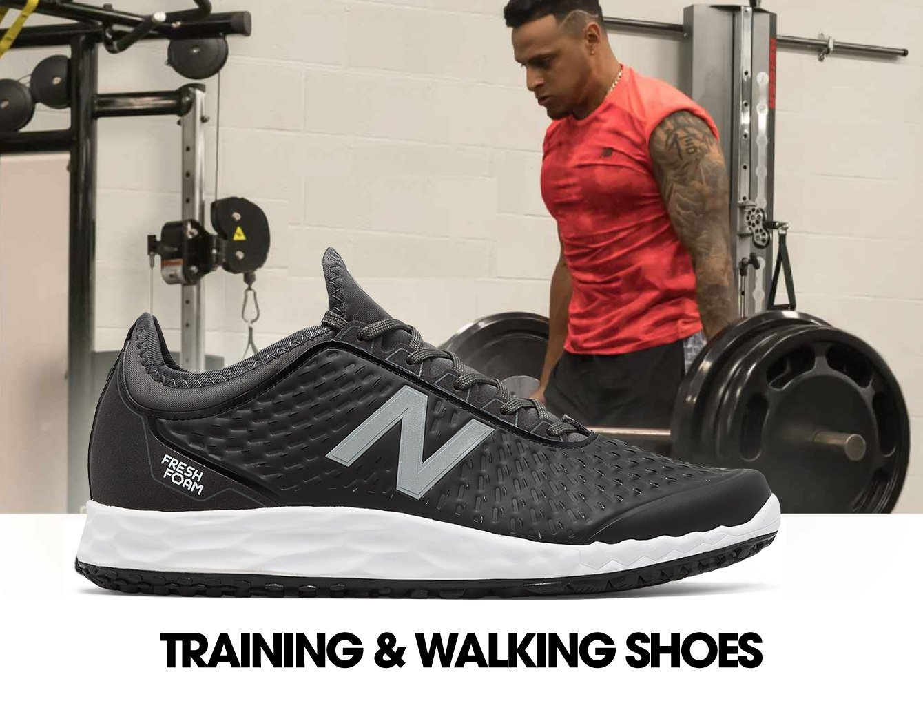 Training and Walking Shoes