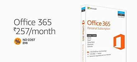 MS Office at Rs.257/month