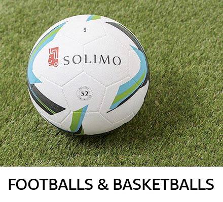 Footballs & basketballs