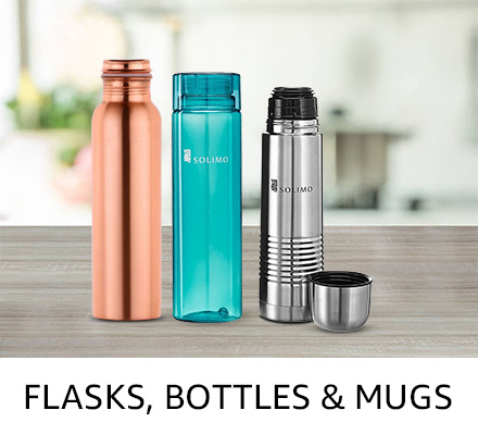 Flasks, bottles & mugs
