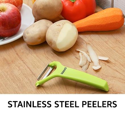 Stainless steel peelers