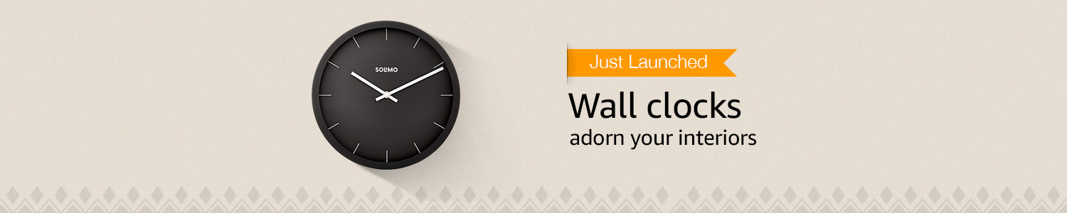 Just launched: Wall clocks