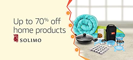 Up to 70% off: Solimo home, kitchen and more