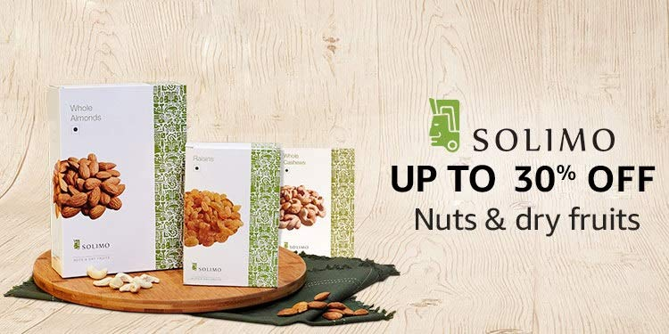Solimo nuts & dry fruits: Up to 30% off