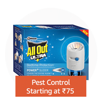 Pest control: Starting at ₹75