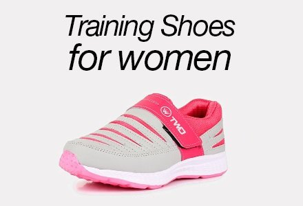 Traning shoes for women