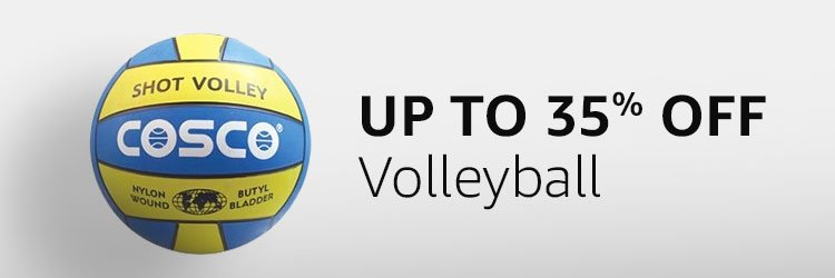 Up to 35% off - Volleyball