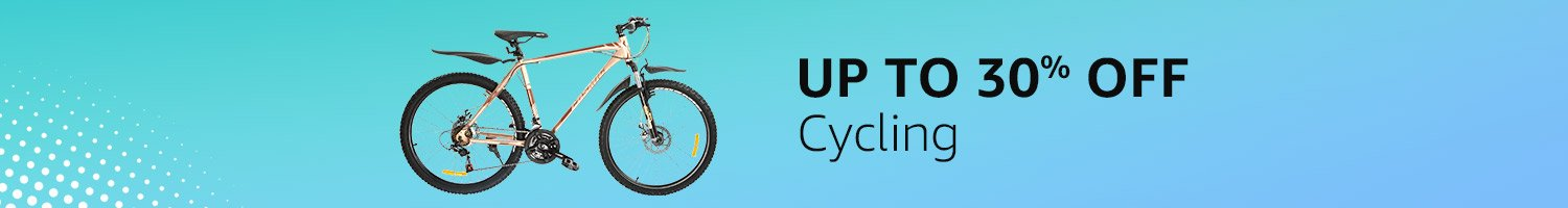 Up to 30% off - Cycling