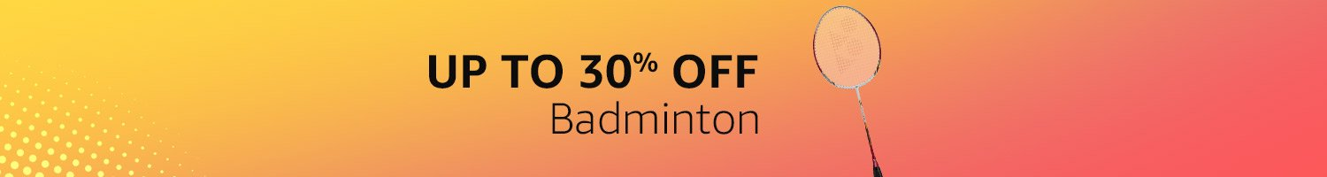 Up to 30% off - Badminton