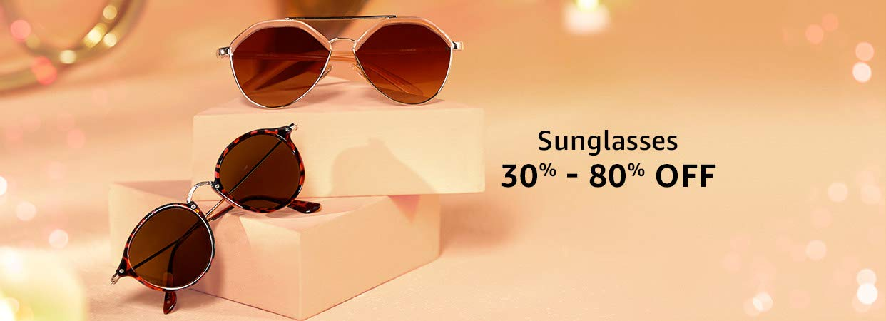 32e9b08f6d7b Buy Sunglasses from Top Brands Online at Low Prices - Amazon