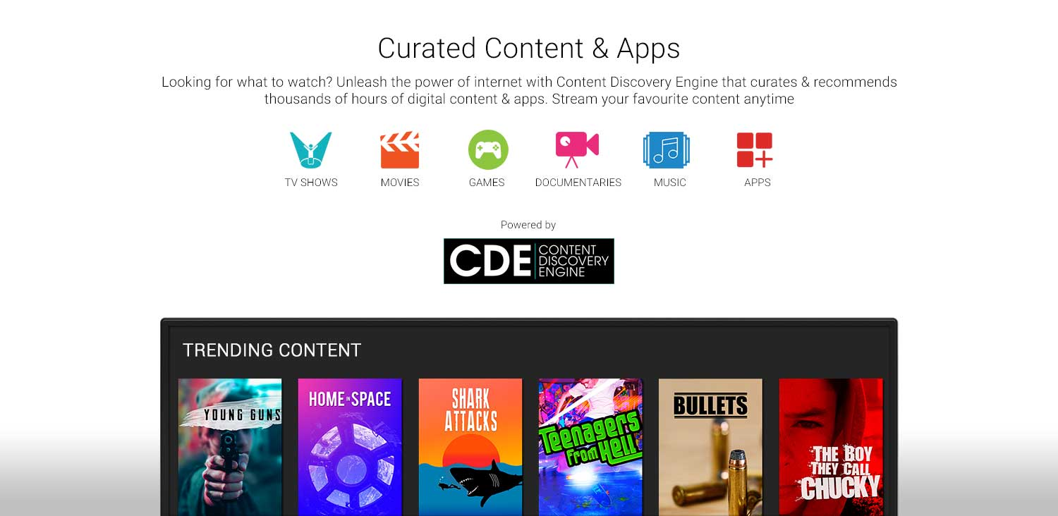 Curated Content & Apps