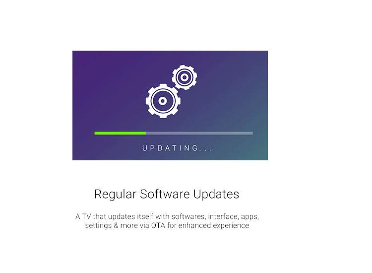 Regular Software updates