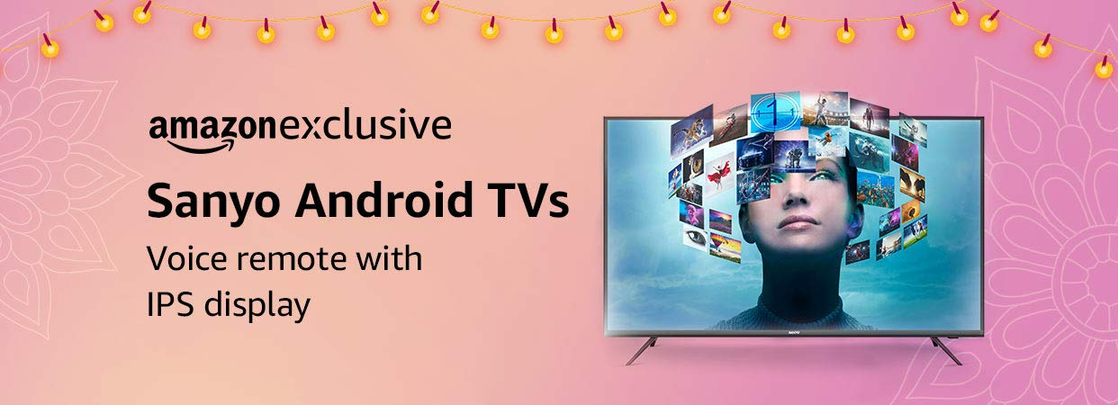 Sanyo android TVs