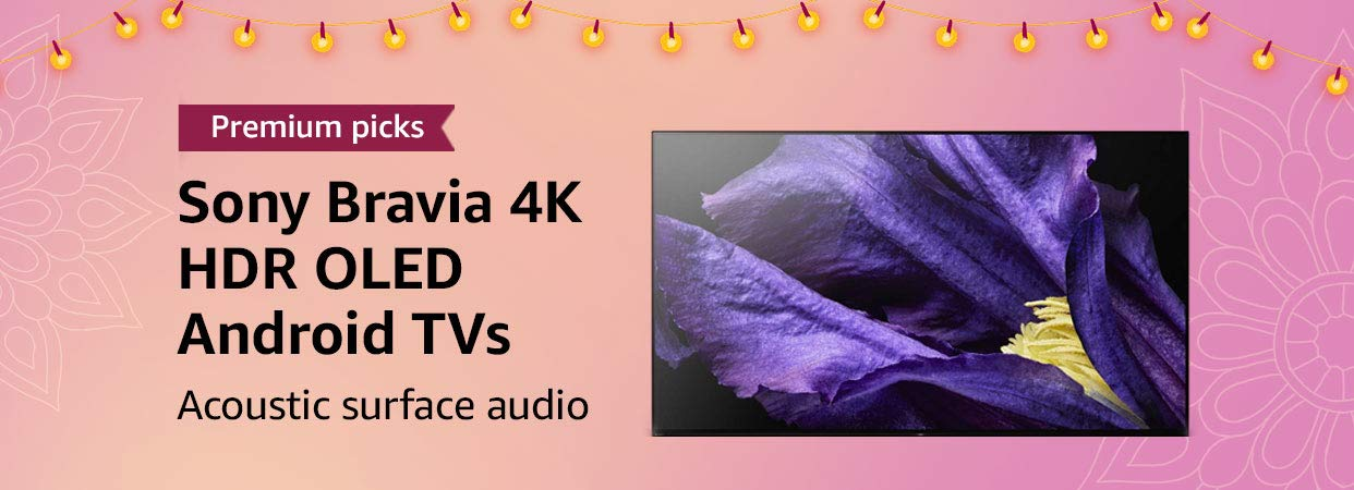 Sony 4K HDR OLED Android TVs