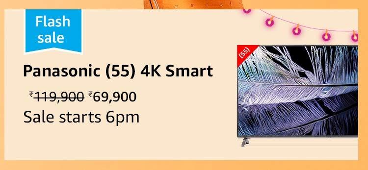 Panasonic (55) 4K Smart