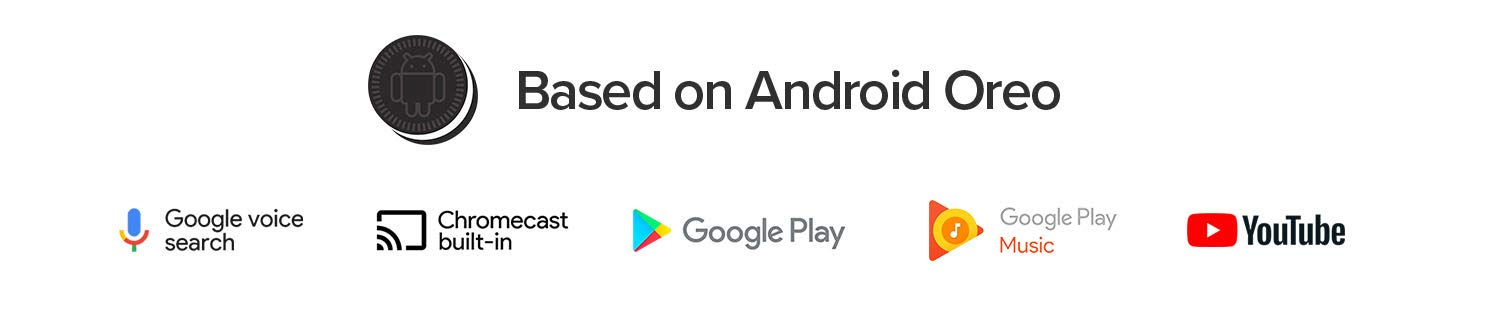 Based on Android Oreo